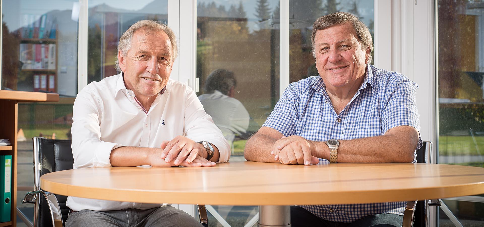 Johann Steger & Ing. Herbert Grander